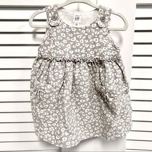 Gap Baby Girl Overall Corduroy Dress